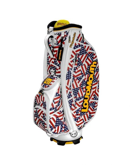 Flagadelic 9 Inch Staff Golf Bag