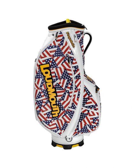 Flagadelic 9 Inch Staff Golf Bag