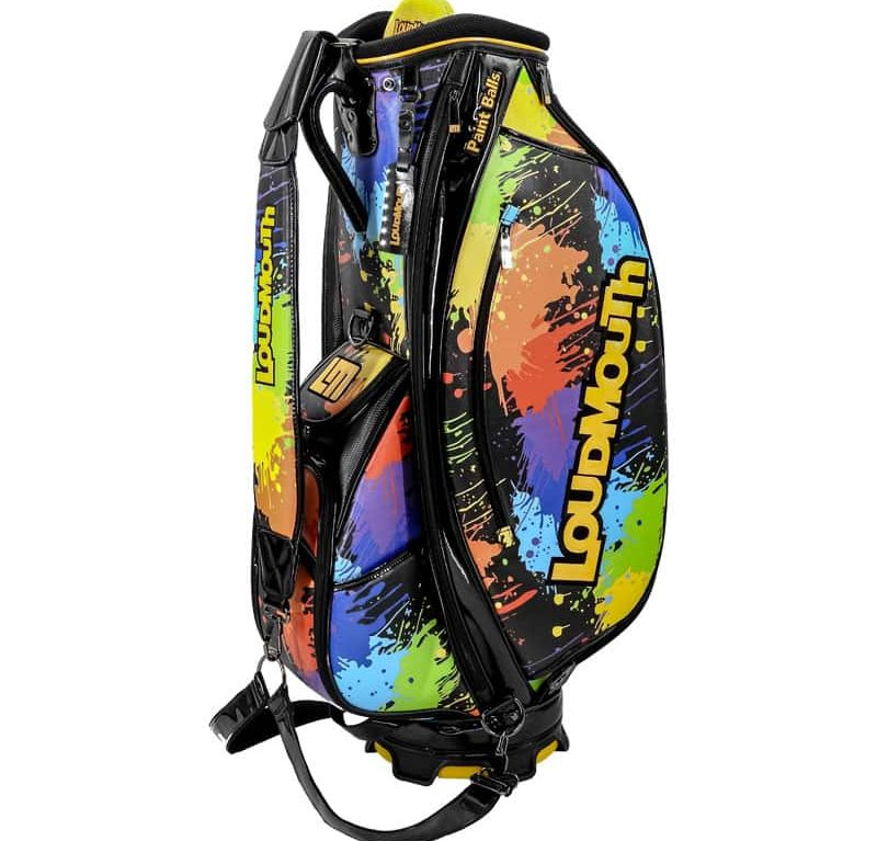 Paint Balls 9 Inch Staff Golf Bag