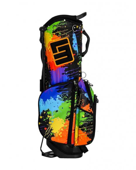 Paint Balls 8.5 Inch Double Strap Golf Bag