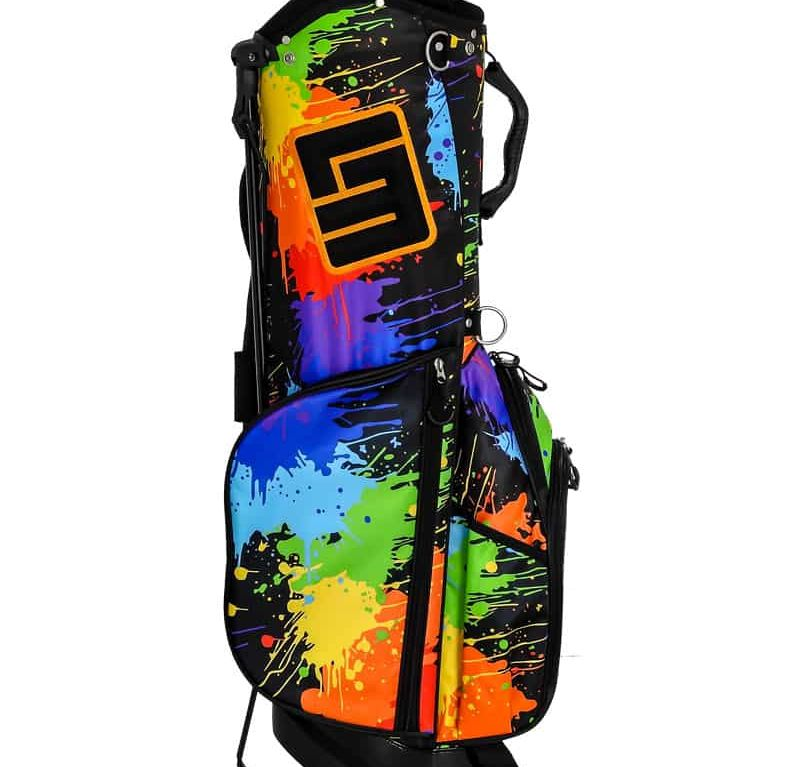 Paint Balls 8.5 Inch Double Strap Golf Bag